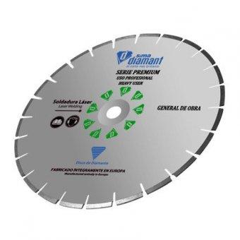 Disque Diamant Coupe à sec/coupe à eau-Universel Premium 350 mm