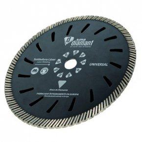 Disque Diamant Coupe à sec/à eau-Turbo Universel 230mm