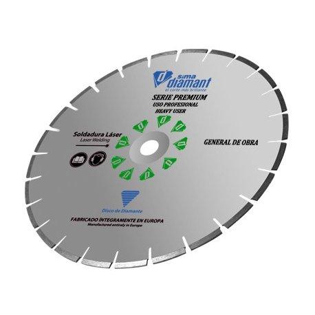 Disque Diamant Coupe à eau-Universel Premium 400 mm -1