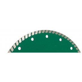 Disque Diamant coupe à sec/à eau -Universel-Turbo Fin-Plus 230 mm