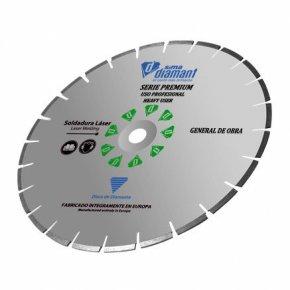 Disque diamant coupe à sec/ à eau-UniverselPremium 300 mm