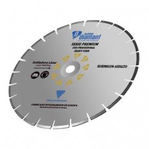 Disque diamant Coupe à eau/ à sec béton Premium 300 mm-1