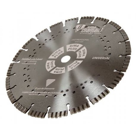 Disque Diamant-Coupe à sec-Universel Silent 230mm