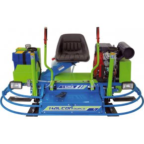 Talocheuse double 900 mm HONDA 23 Hp HALCON Duplo